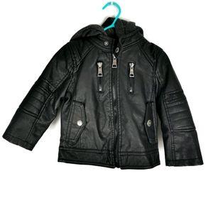Urban Republic Toddler Jacket Faux Leather 18 m